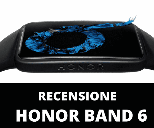 Honor Band 6 recensione