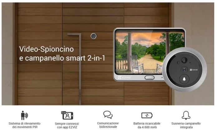 Video Spioncino EZVIZ Prime Day