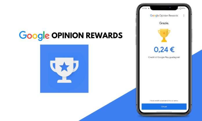 Google Opinion Rewards: guadagna credito con sondaggi senza sforzo