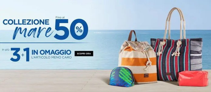 Carpisa taglia i prezzi: borse scontate fino al 50% e 3+1 in omaggio su tutto!
