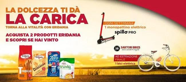 """Concorso Eridania: con il """"Back To Sugar"""" vinci monopattini elettrici e bici elettrica"""