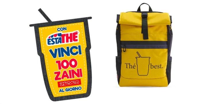 Concorso Estathé: vinci 100 Zaini Seven al giorno