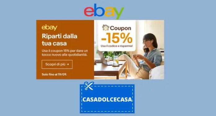 Rinnova l'arredamento della tua casa con il coupon Ebay: ecco come ottenerlo