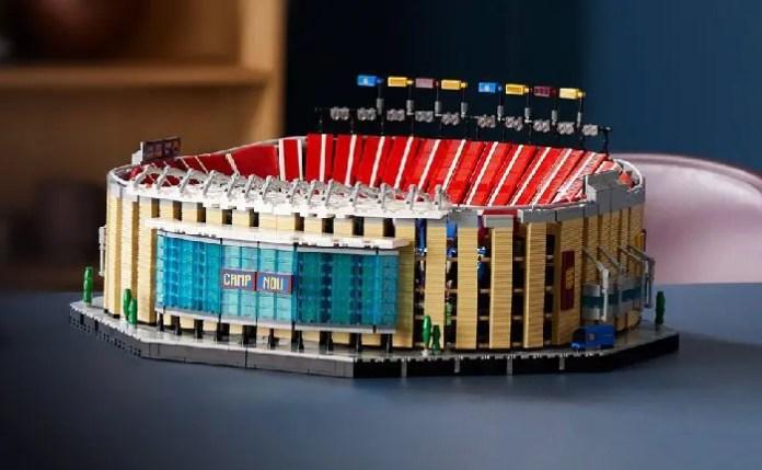 Set Lego Camp Nou FC Barcellona