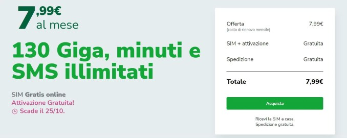 Very mobile very special offerta