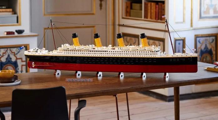 Titanic set LEGO