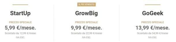 prezzi-siteground