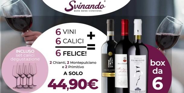 promozione svinando vino in offerta