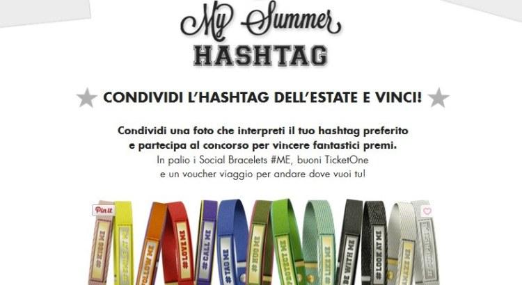 Concorso My Summer Hashtag Nomination