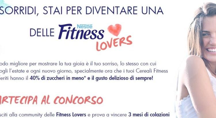 Concorso Nestlè Fitness Lover