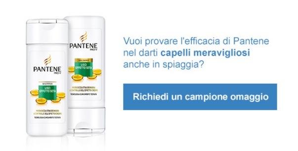 Campione Omaggio Pantene Shampoo e Balsamo Desideri Magazine
