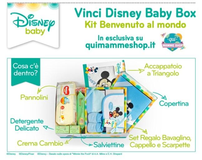 Kit Benvenuto Dolce Attesa Dolce Attesa: vinci il kit benvenuto al mondo Disney Baby Box
