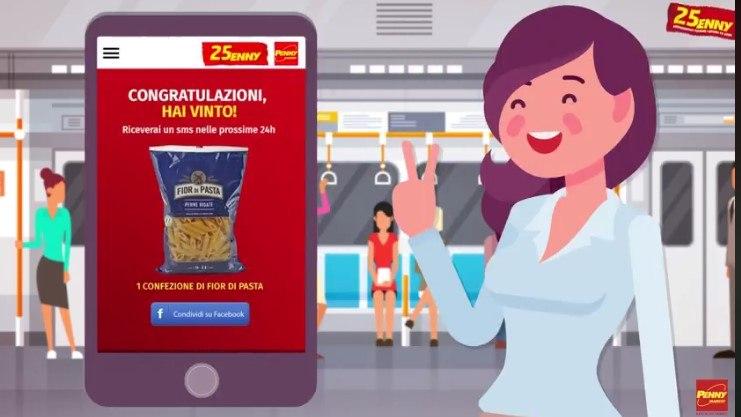 Concorso gratuito PennyGame: vinci 25000 prodotti alimentari