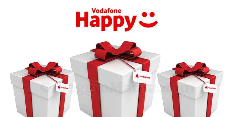 Vodafone Happy: il 28 febbraio sarà l'ultimo giorno valido per richiedere i premi