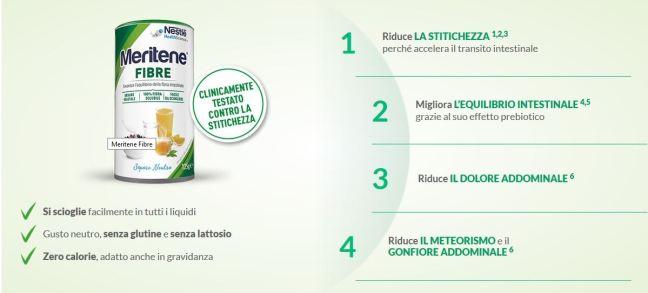 Meritene Fibre Prova gratis Meritene Fibre di Nestlé