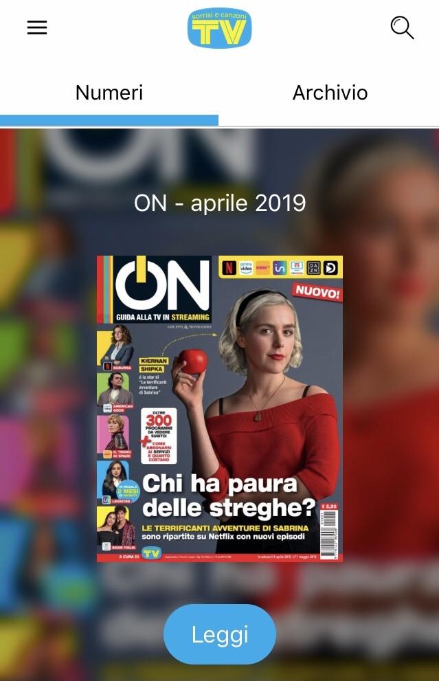 www.scontrinofelice.it img 5988 2 mesi di Infinity a soli 0,99€ con la nuova rivista ON (+ Buono Sconto per la versione cartacea)
