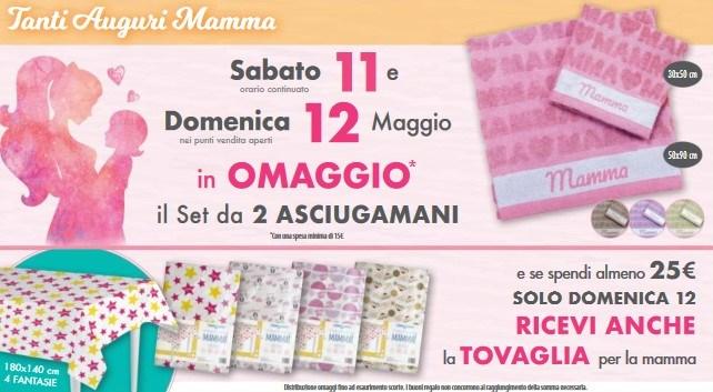 Omaggio festa della Mamma Acqua e Sapone Tutti gli acquisti con omaggio da Acqua e sapone (dal 7 al 26 Maggio)
