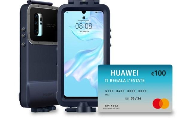 HUAWEI P30 Huawei ti regala l'estate: acquista gli smartphone Huawei e ricevi premi certi!