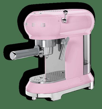 macchine da caffè Smeg 50 style rosa Concorso Bauli Un grande amore si vede dal mattino: vinci macchine da caffè Smeg rosa!