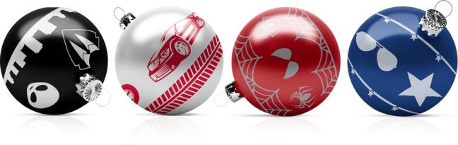 balls Concorso gratuito Infinity Movie Balls: vinci 4 palle di Natale originali e 6 mesi di abbonamento Infinity