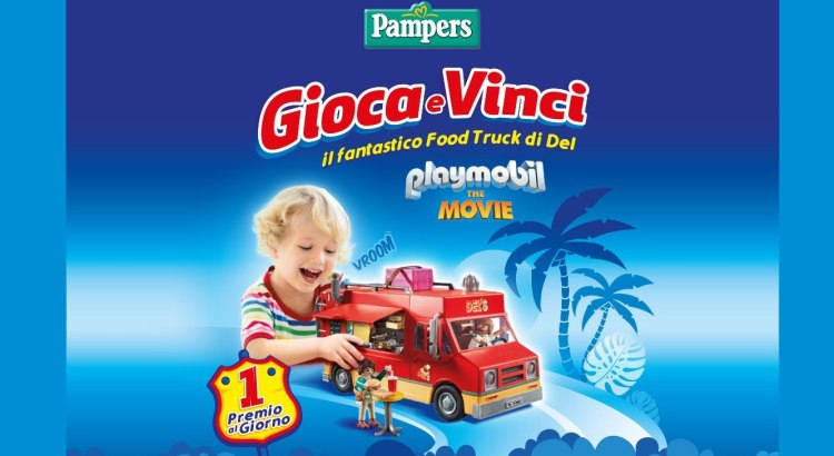 un Food Truck Playmobil con Pampers