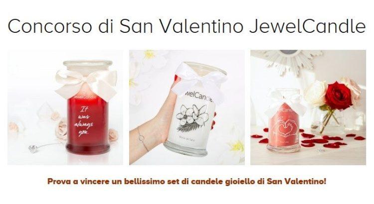 Concorso JewelCandle di San Valentino