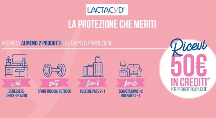 Lactacyd ti premia - ricevi voucher esperienza