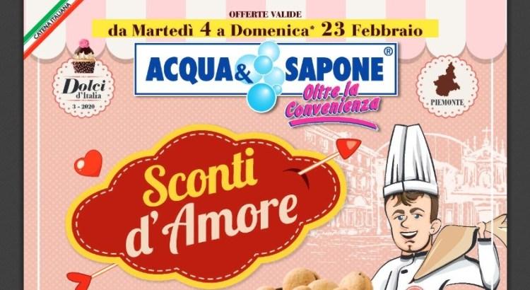 Tutti gli omaggi con acquisto da Acqua e Sapone (dal 04/02/2020 al 23/02/2020)