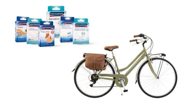 Concorso Hansaplast Routine 2020 vinci biciclette Via Veneto By Canellini