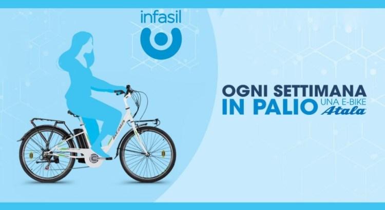 Concorso Infasil vinci biciclette elettriche Atala E-Bike Urban E-Way 36V