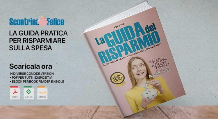 eBook PDF La Guida del Risparmio Scontrino Felice