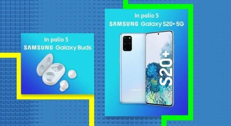 Tim Party vinci Samsung Galaxy S20+ 5G o Galaxy Buds