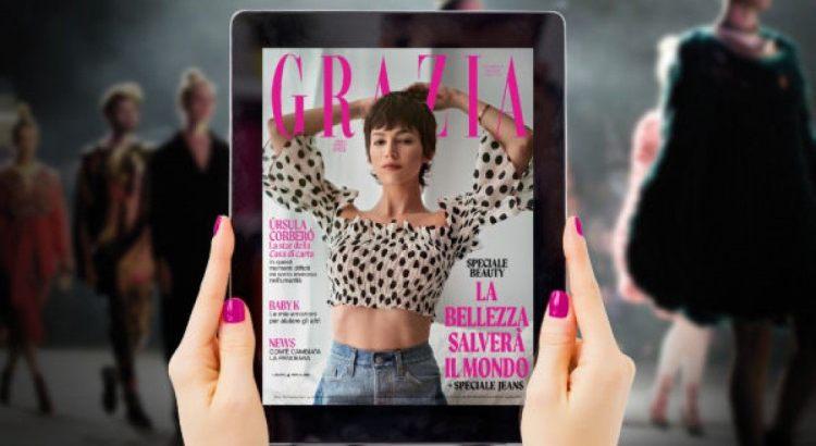 1 anno di abbonamento digitale a Grazia in regalo da H&M