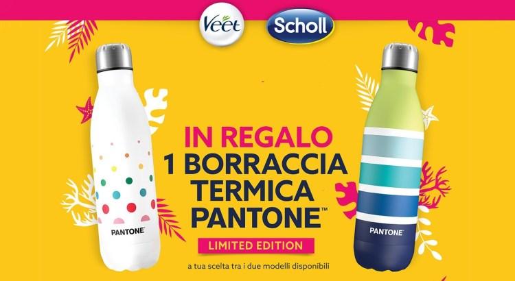 Colora la tua estate con Veet e Scholl ricevi borraccia Pantone premio certo