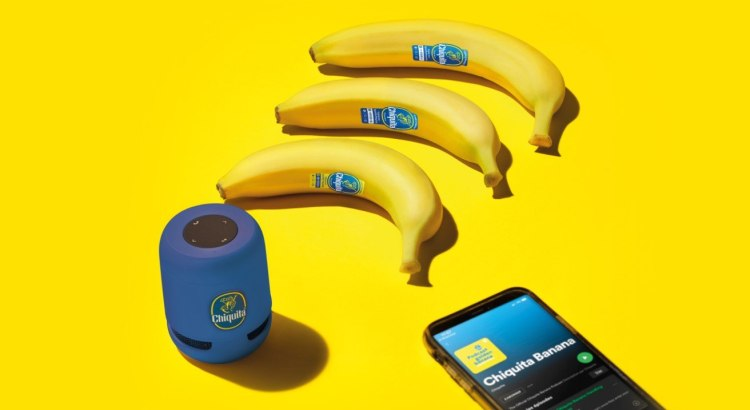 Concorso Chiquita Yellow Banana vinci spotify e speaker