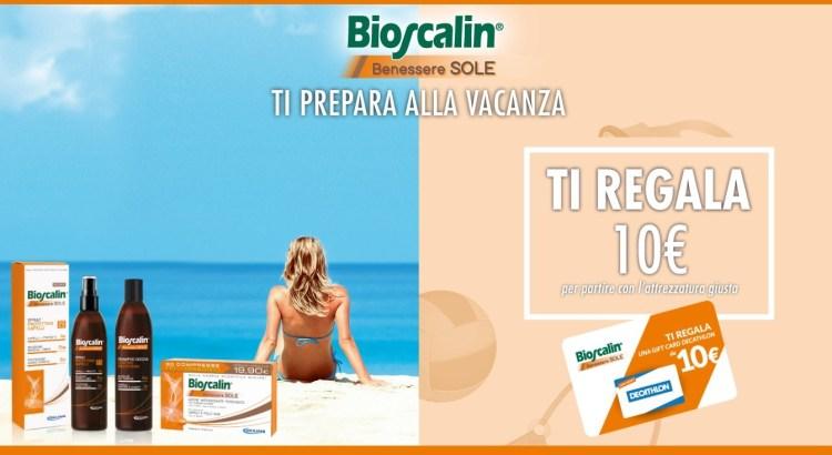 Premio sicuro Bioscalin Benessere Sole ricevi gift card Decathlon da 10 euro