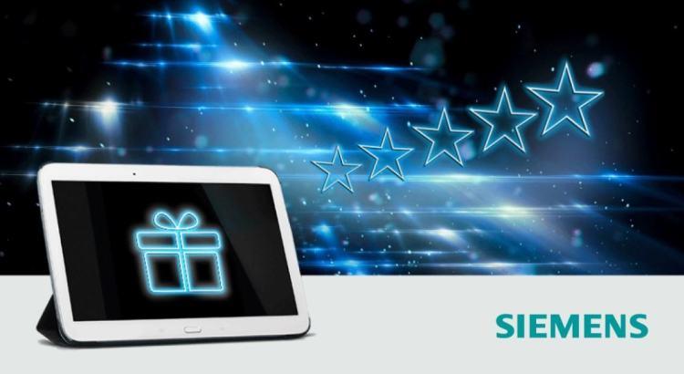 Per Siemens la tua opinione vale un premio 2020