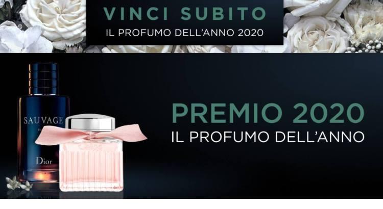 Vinci il profumo dell anno 2020