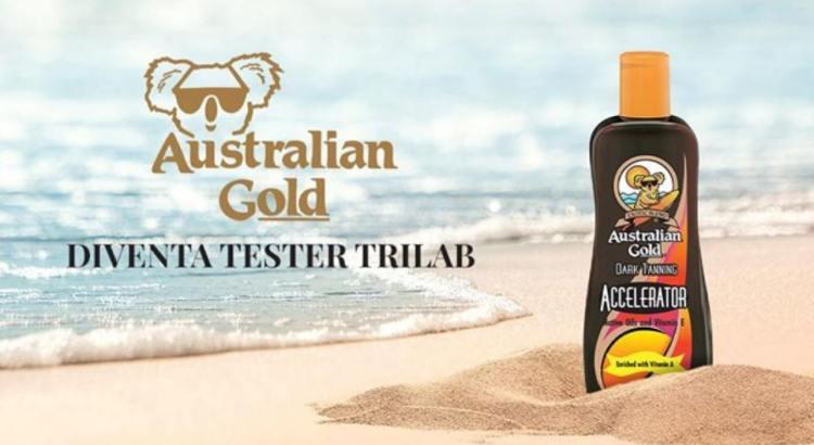 Diventa tester accelleratore abbronzatura Australian Gold