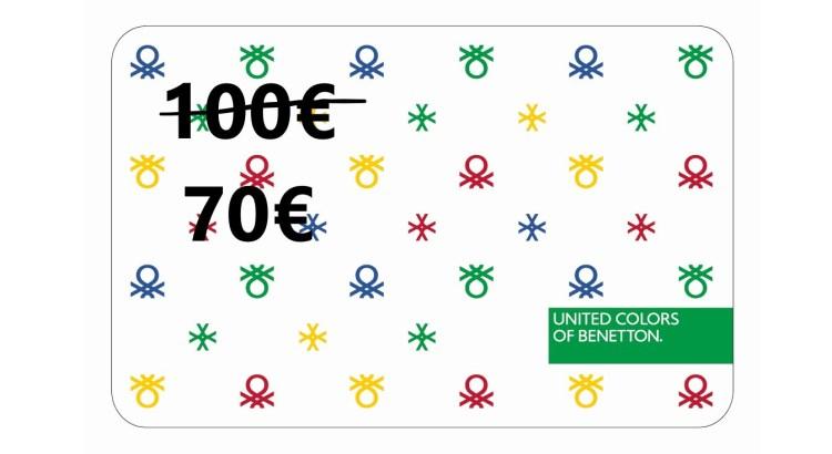 codice sconto gift card Benetton