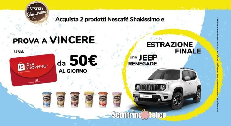 concorso a premi Nescafé Shakissimo Gusto Vincente