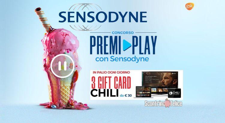 concorso a premi Premi Play con Sensodyne vinci CHILI