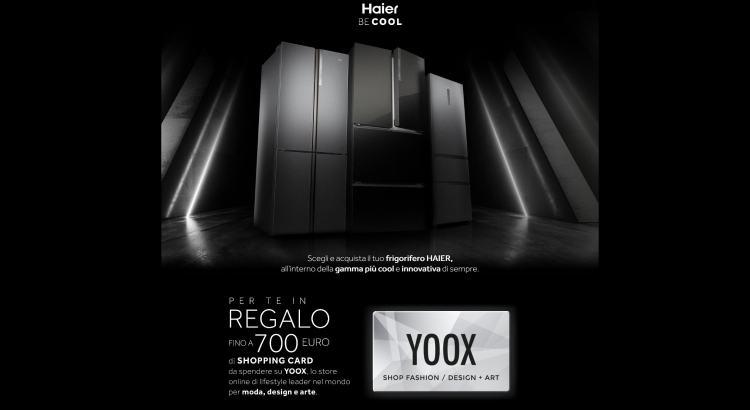 Haier Be Cool ricevi shopping card YOOX