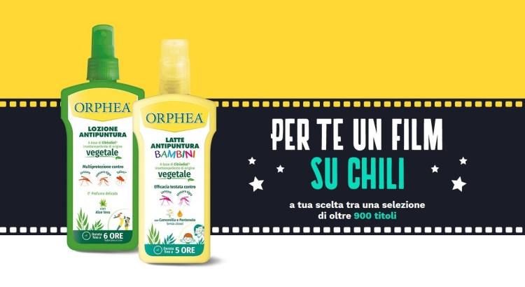 Premio Certo Orphea regala il cinema Chili