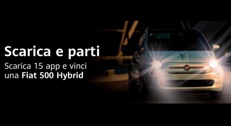 Huawei AppGallery Scarica e Vinci Fiat 500