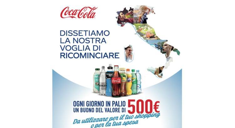 Concorso Coca Cola Dissetiamo la nostra voglia di ricominciare