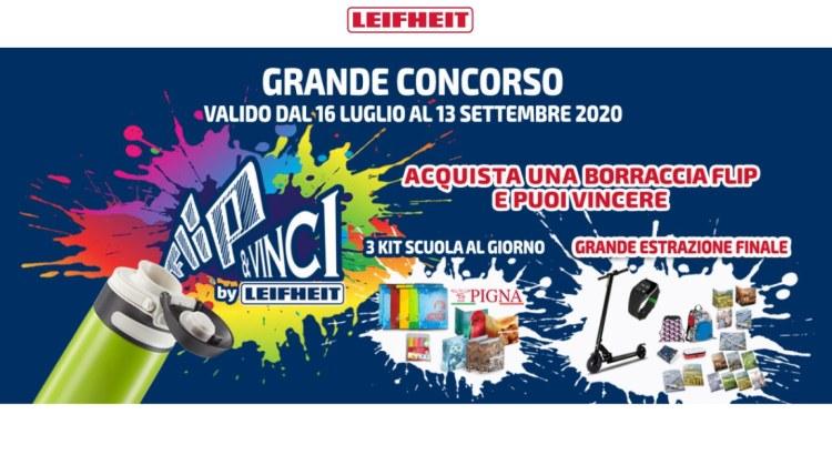 CONCORSO BORRACCIA FLIP Leifheit