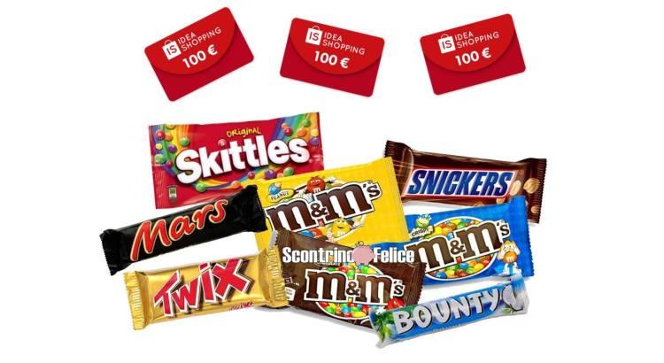 concorso M&Ms Skittles Mars Snickers Twix Bounty Celebrations Gusto da Brivido e Premi da Urlo