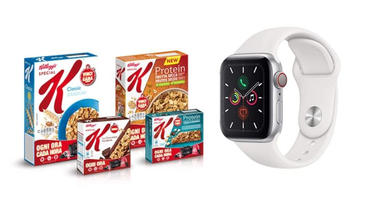 Concorso Special K da Conad vinci Apple Watch 5 e forniture di prodotti