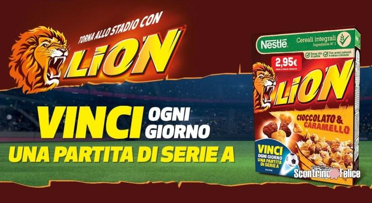 Concorso Vinci lo stadio con Lion 2020